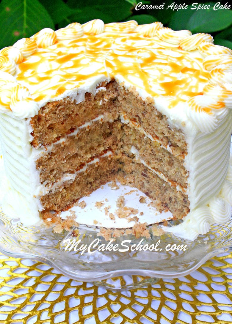 Easy Caramel Cake Recipe Scratch
