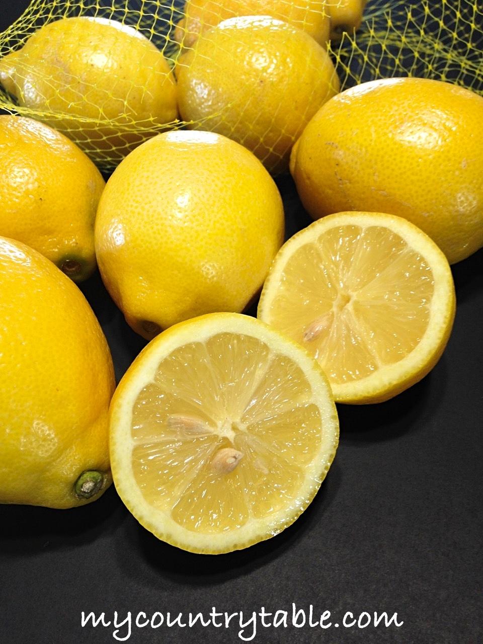 Easter Cakes Lemon