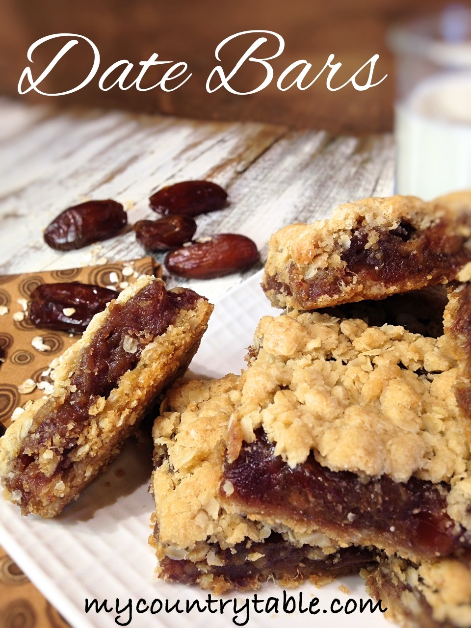 Date Bars My Country Table