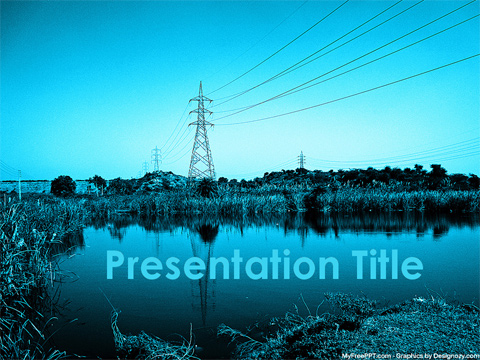 Free Power Grid Powerpoint Template Download Free