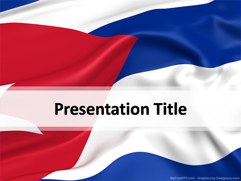 Cuba Powerpoint Template Download Free Powerpoint Ppt