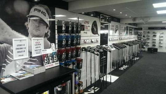 Ping   Westwood opens new Ping Golf Shop at Gainsborough GC     Gainsborough Golf Shop 01
