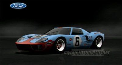 Ford GT40 Race Car '69 | Gran Turismo 5 | mygranturismo.net