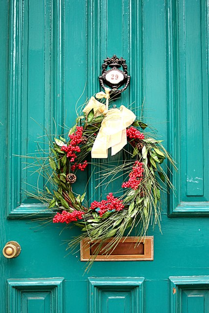 Home Holiday Decor Christmas Wreaths From Downed Trees