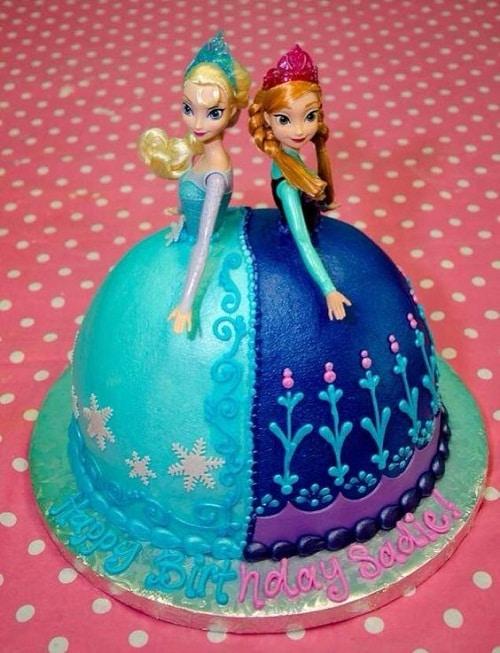 21 Disney Frozen Birthday Cake Ideas And Images My Happy