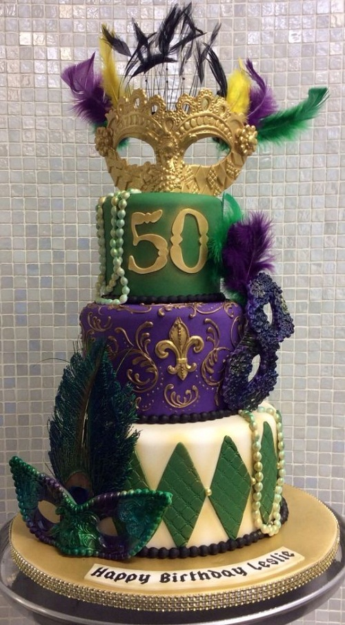 34 Unique 50th Birthday Cake Ideas With Images My Happy