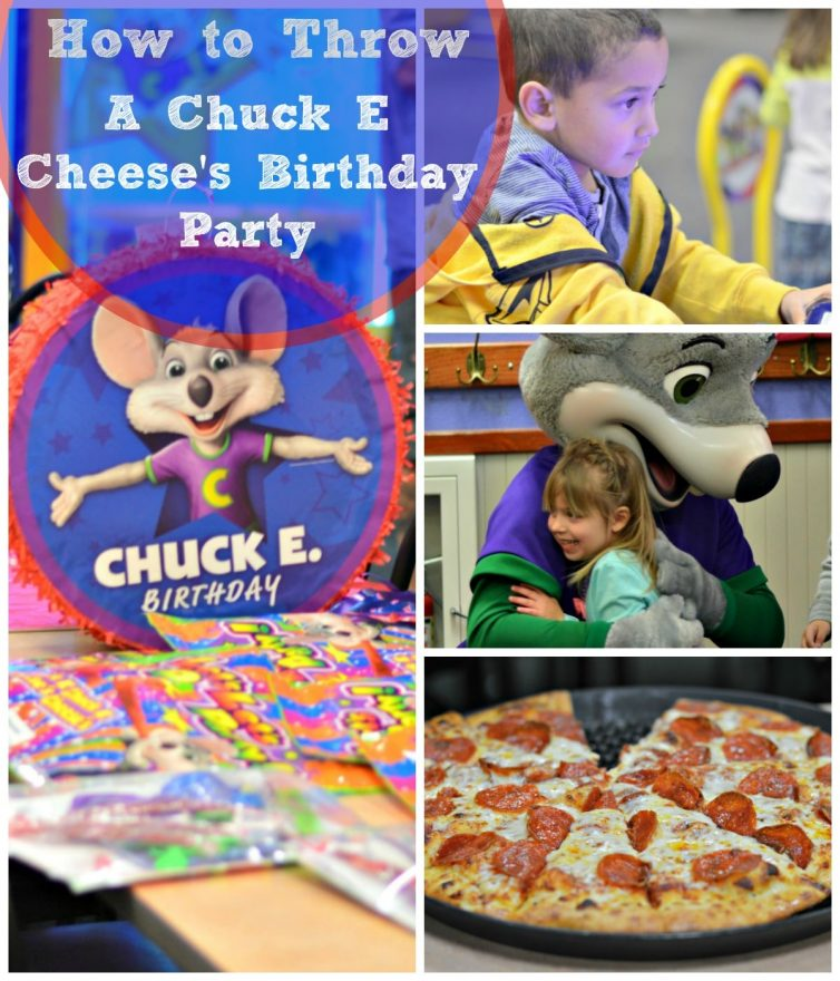 Chuck Cheese Birthday Party