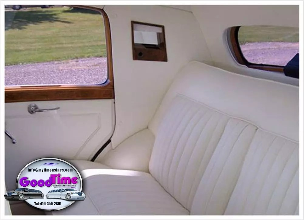 1950 Bentley Interior 1 2 LIMO RENTAL FLEET