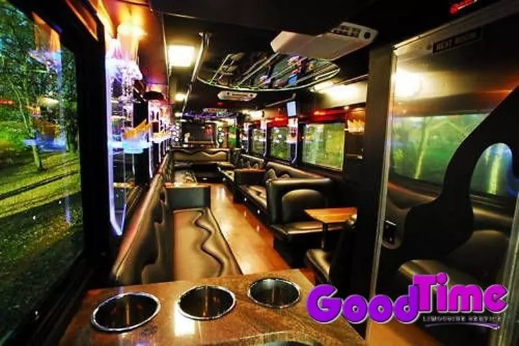 45 passenger party bus int 2 2 LIMO RENTAL FLEET
