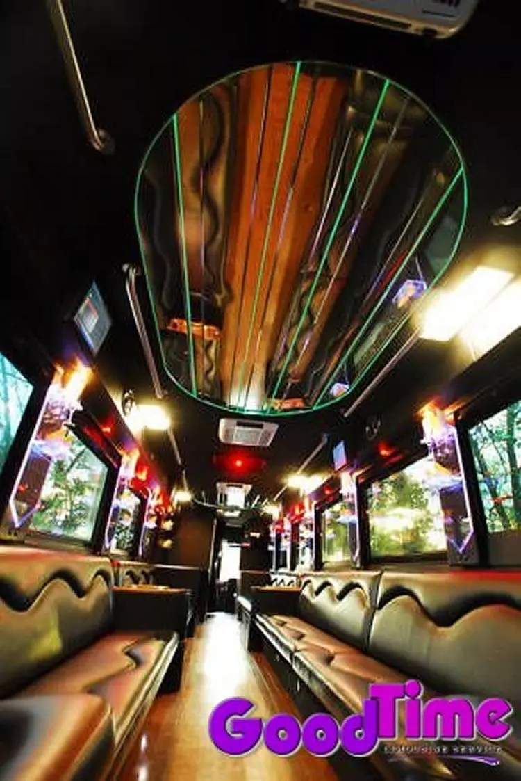 45 passenger party bus int 4 2 LIMO RENTAL FLEET
