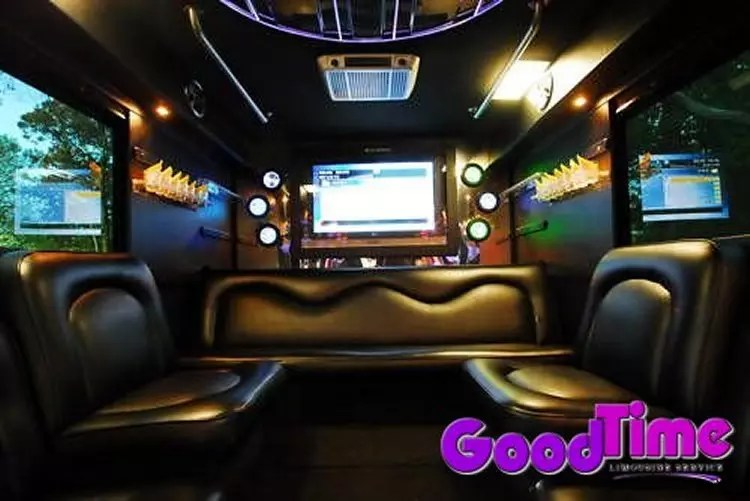 45 passenger party bus int 5 3 LIMO RENTAL FLEET