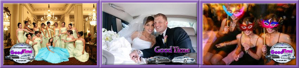 Ontario Canada Limousine Rental Services BROCK PARTY BUSES