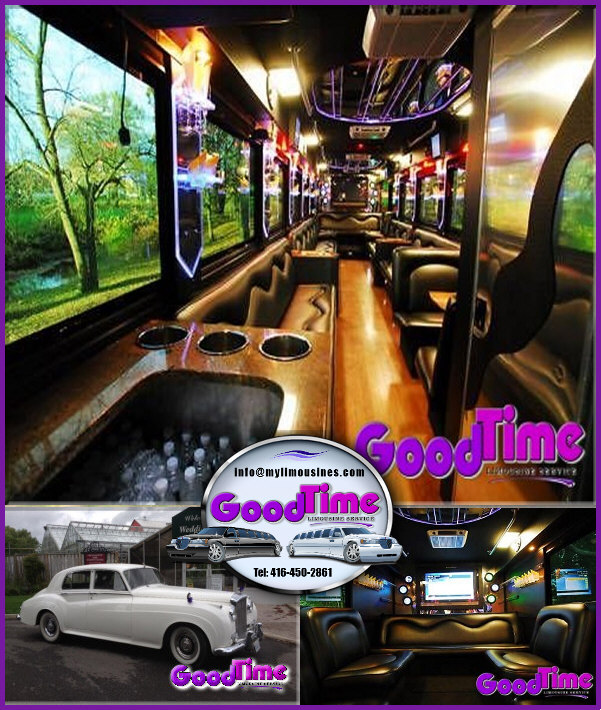 Party Bus Limousines Rental Service BOLTON ONTARIO PARTY BUSES