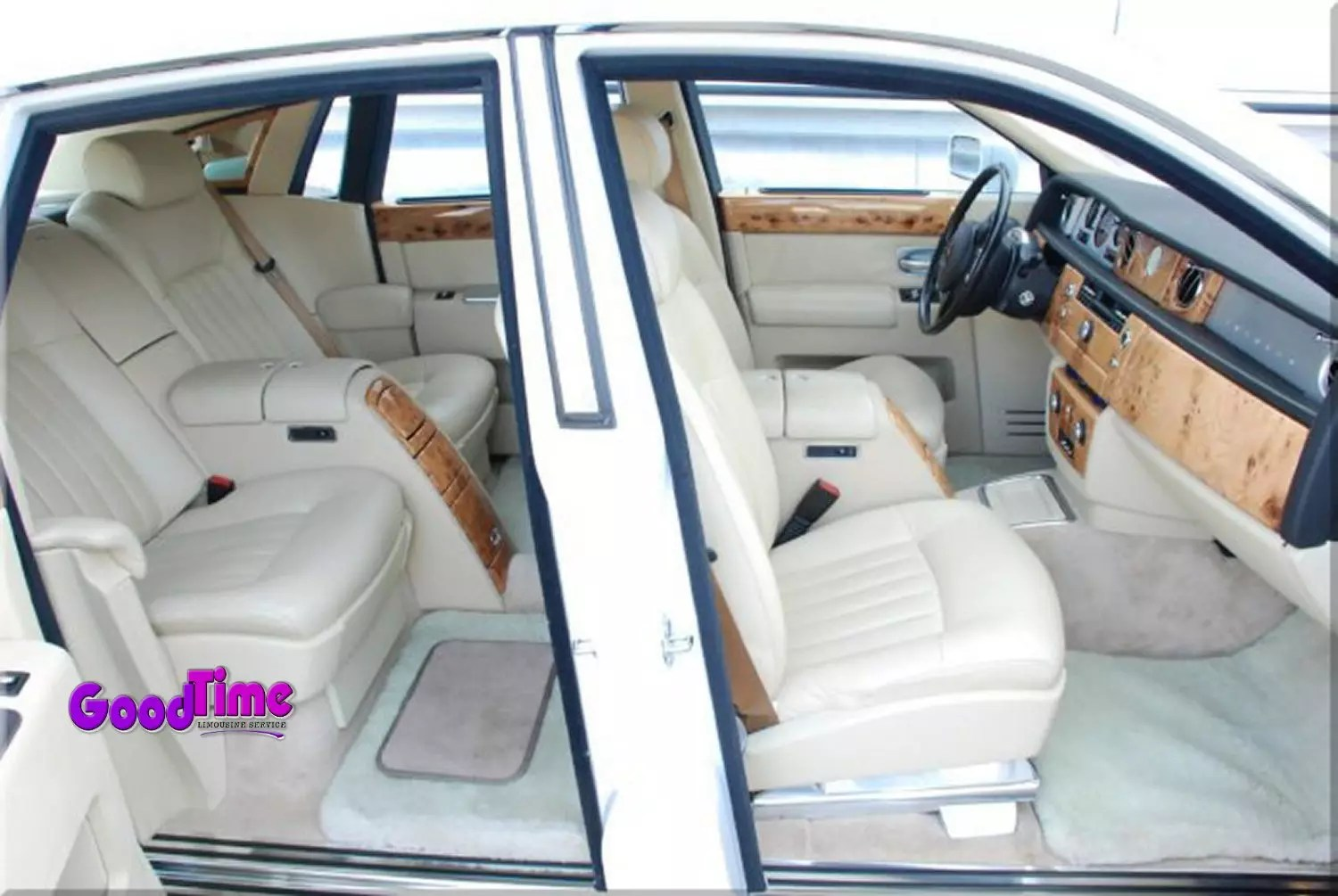 Rolls Royce Phantom White Limo Int 4 1 LIMO RENTAL FLEET