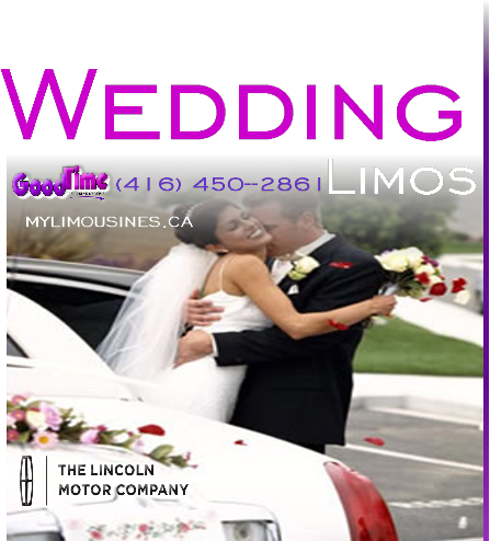 Wedding Limos for Rent GANANOQUE WEDDING LIMO