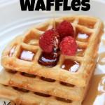 waffles, breakfast, waffle
