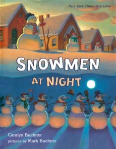 books snowmen