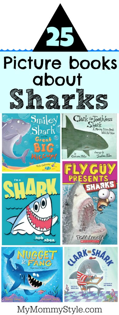 25 picture books about sharks