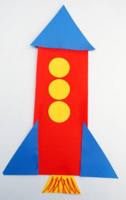 shape rocket