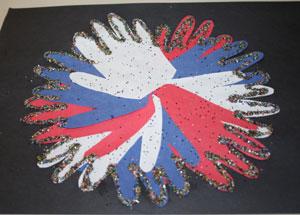handprint firework