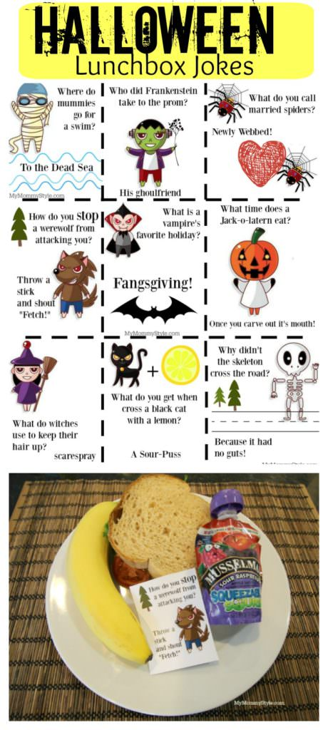 13/08/2018· halloween jokes for kids are a fun way to get everyone laughing! Free Halloween Joke Printables For Kids My Mommy Style