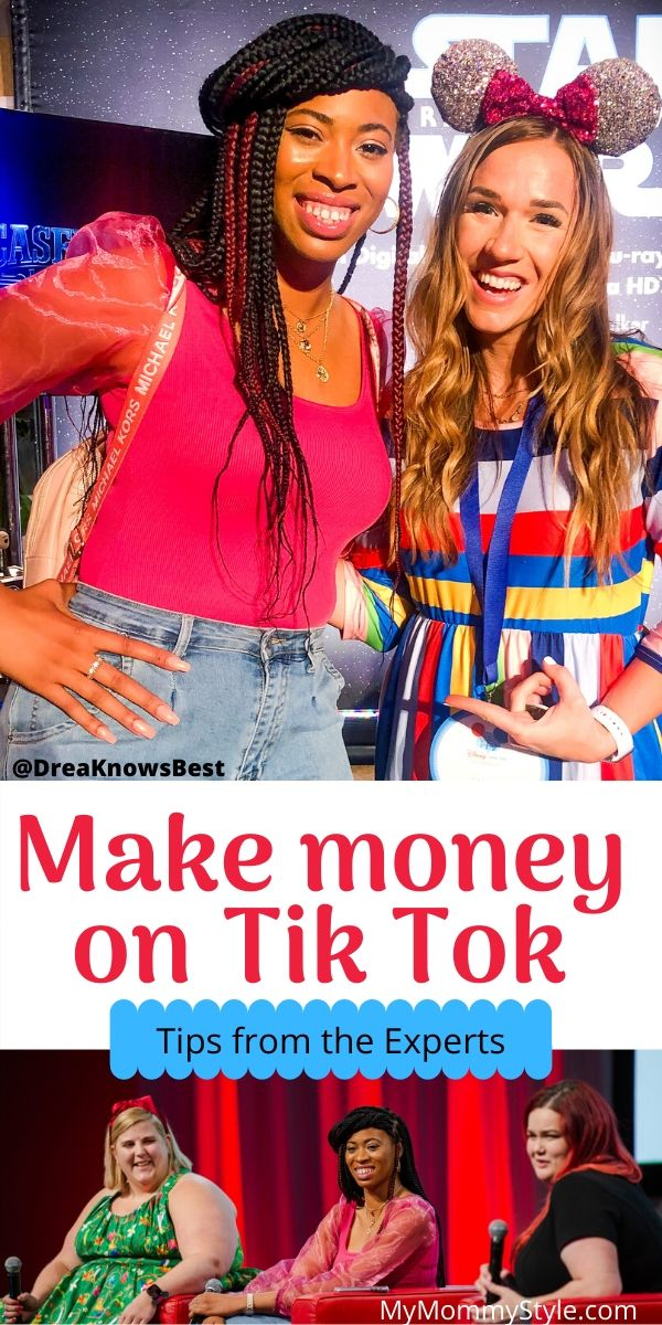 Learn how to make money on Tik Tok from the Experts! Drea from @DreaKnowsBest and Anna from @SparklesandLazers give us their top tips for Tik Tok growth.  via @mymommystyle