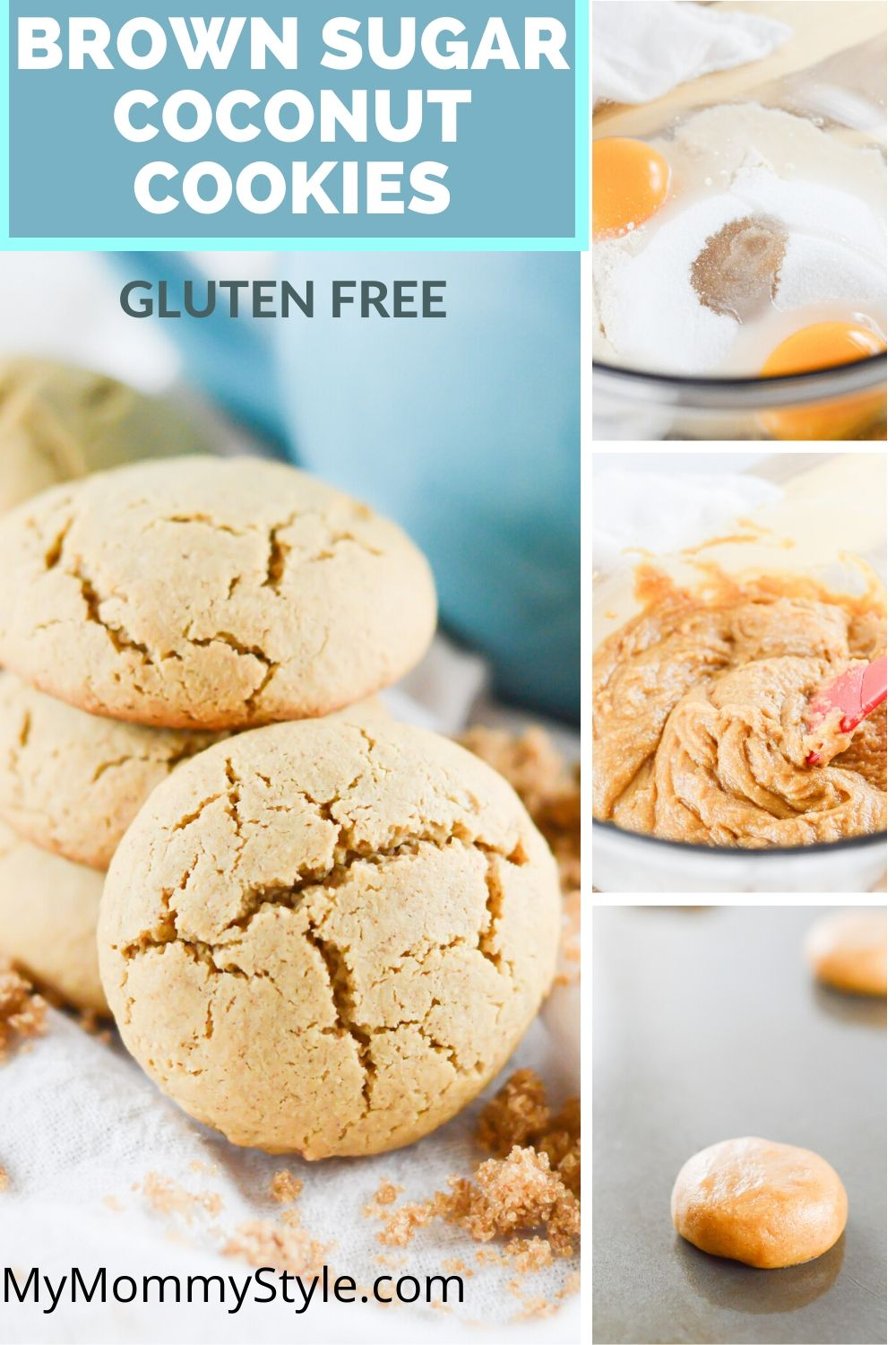These gluten free coconut flour cookies are so delicious, simple, and chewy! Saving to favorites! via @mymommystyle