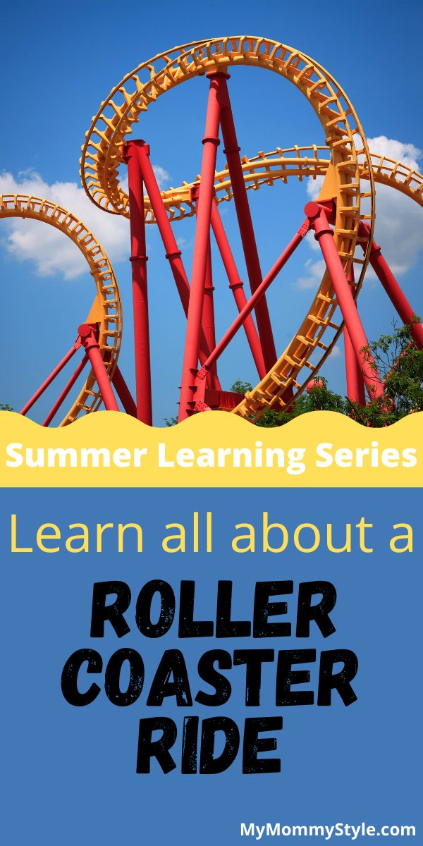 A roller coaster ride brings out the dare devil in all of us! Teach kids all about how roller coasters work and all the fun that comes along them.  via @mymommystyle