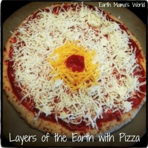 Layers of the Earth with Pizza