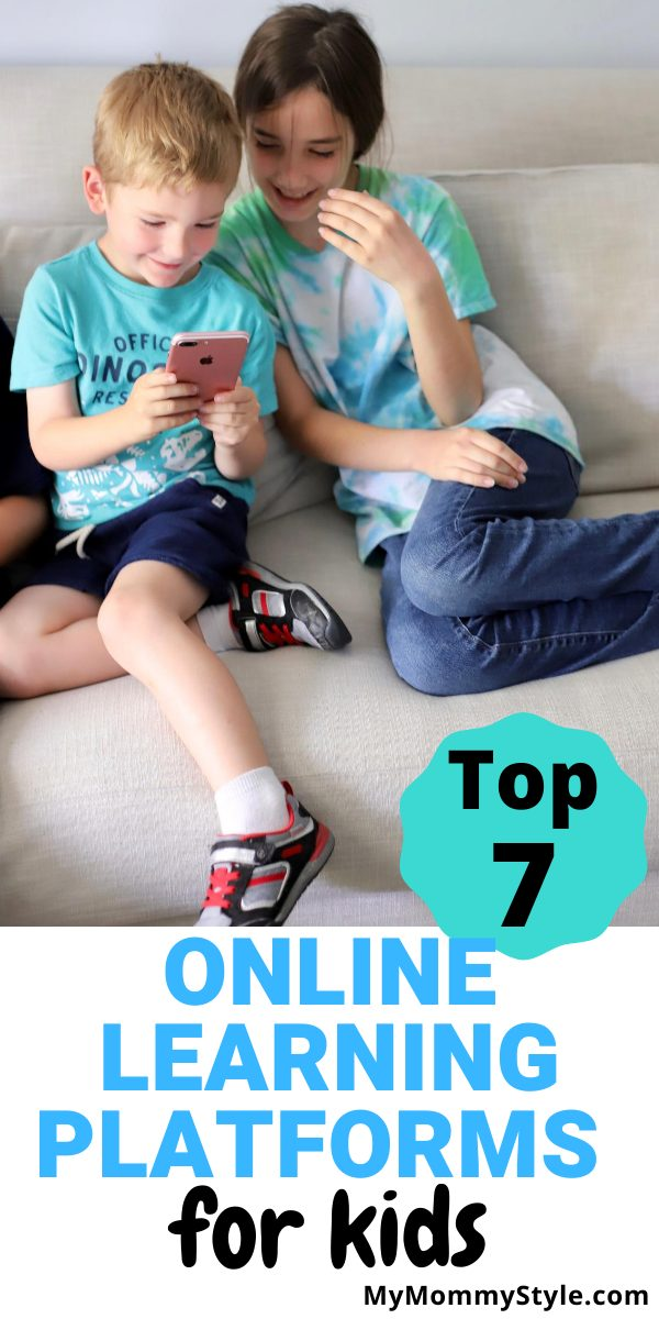 For some fun ways to help teach, here are the top seven online learning platforms for kids. These are easy to use and they really do work! #onlinelearningplatformsforkids #onlinelearningplatforms #onlinelearning via @mymommystyle