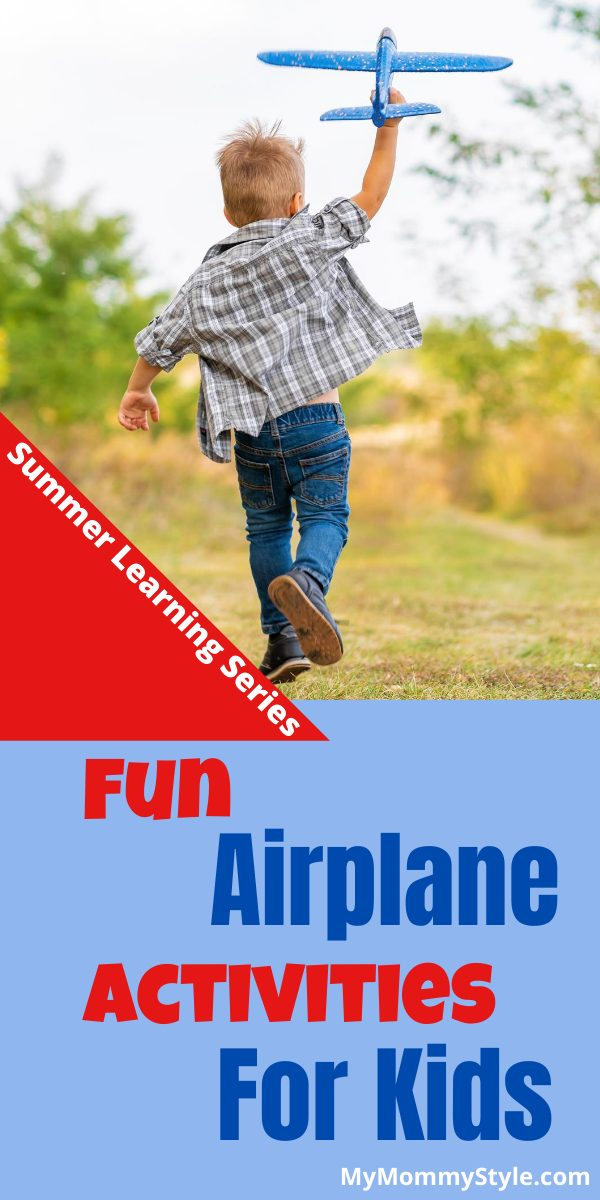 Airplane activities for kids are enjoyable for all ages. Here are some fun, high-flying projects, snacks and books to get you going. via @mymommystyle