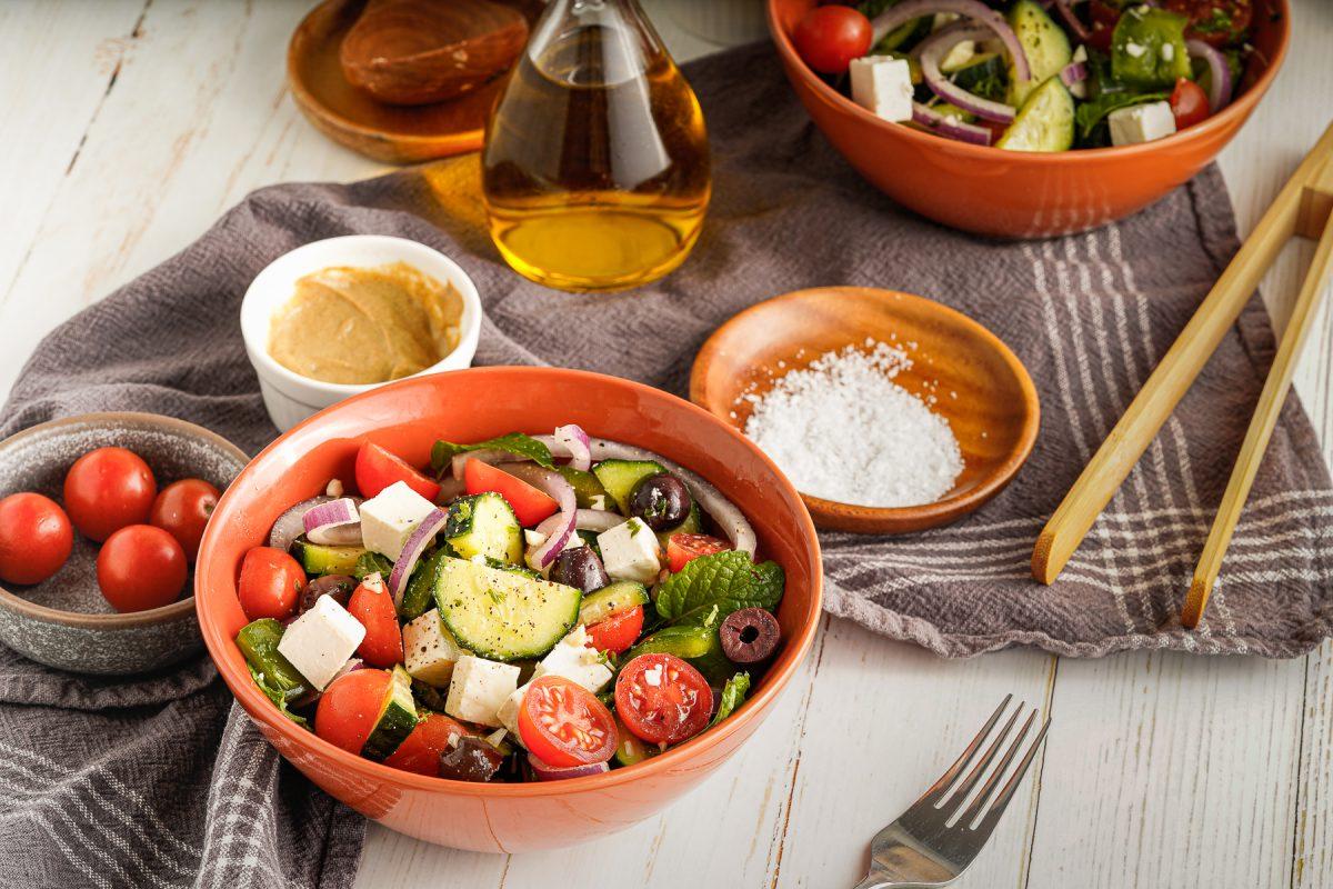 Easy Greek Salad Recipe