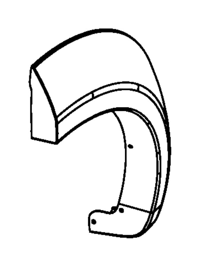 2008 Dodge Nitro Body Diagram