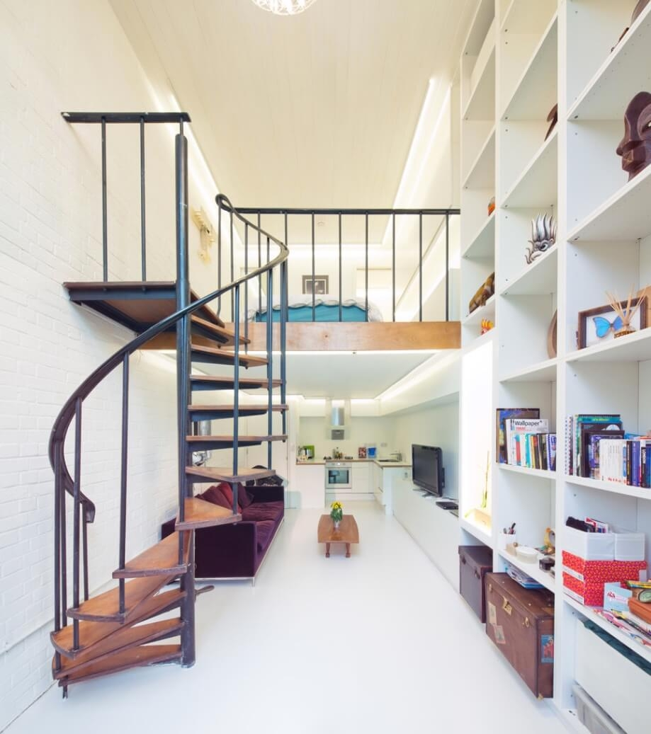 6 Ways To Get In On The Spiral Staircase Trend | Used Metal Spiral Staircase For Sale | Stair Parts | Cast Iron | Foshan Demose | Wrought Iron | Stair Case