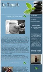 My Newsletter Builder Examples For Massage Email