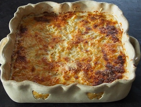Gratin de pomme de terre traditionnel