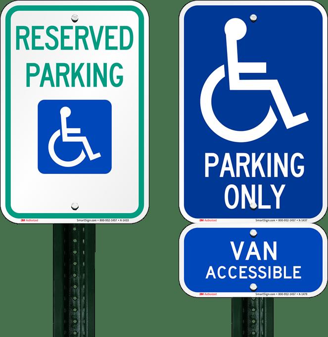 Handicap Parking Hang Tags