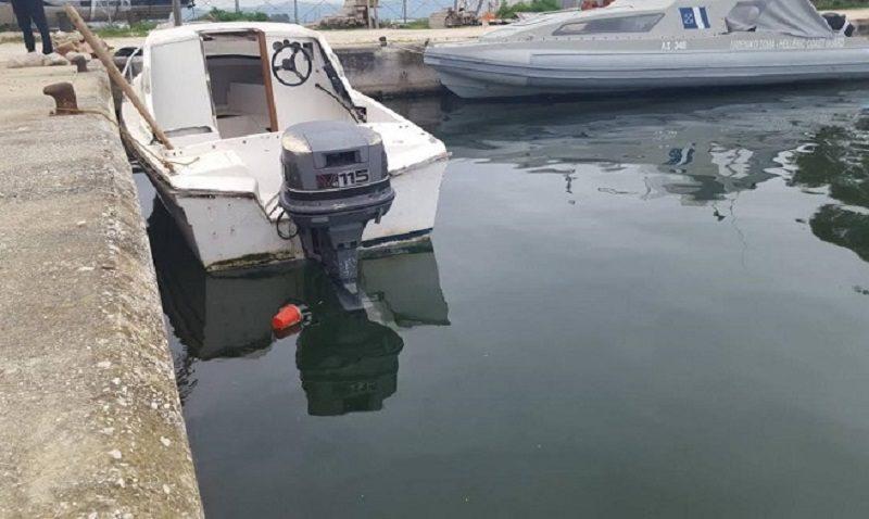Πρέβεζα: Κλεμμένο το σκάφος που μετέφερε ναρκωτικά και εντοπίστηκε αστυνομικούς της Διεύθυνσης Πρέβεζας στη Πλαταριά Θεσπρωτίας