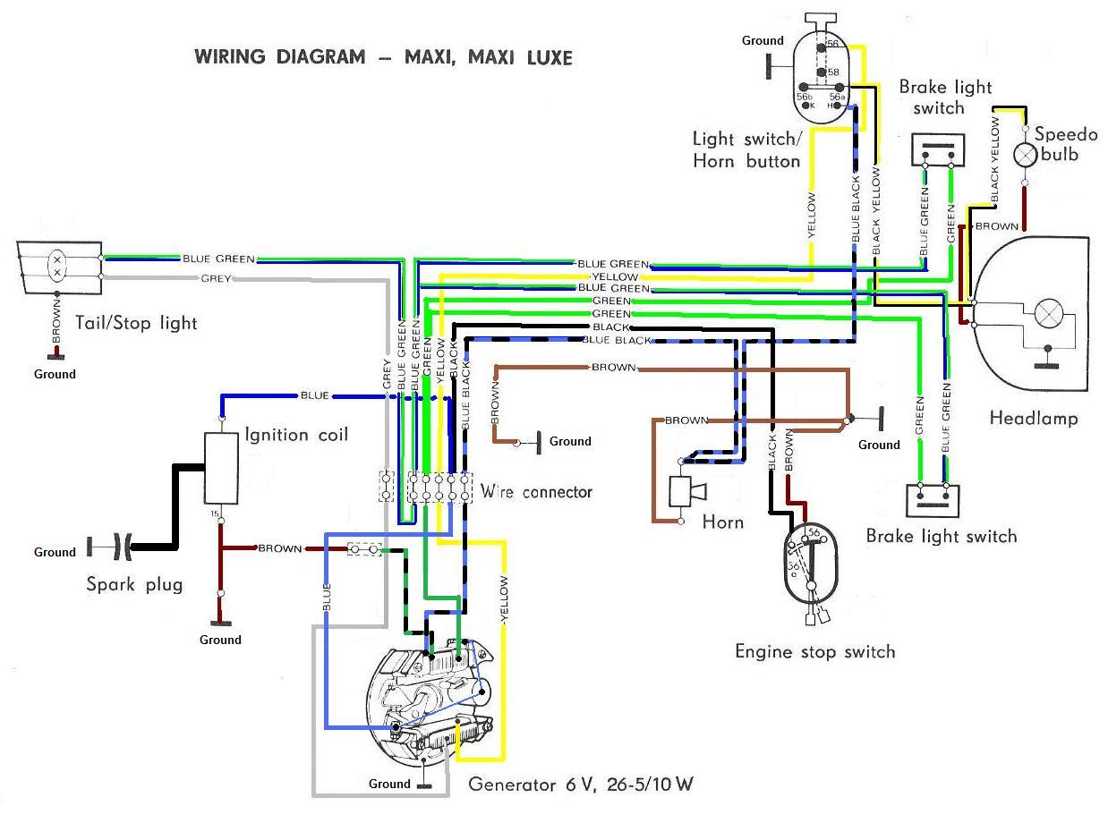 Roketa Scooter Wiring Schematic Maui 50 Diagram