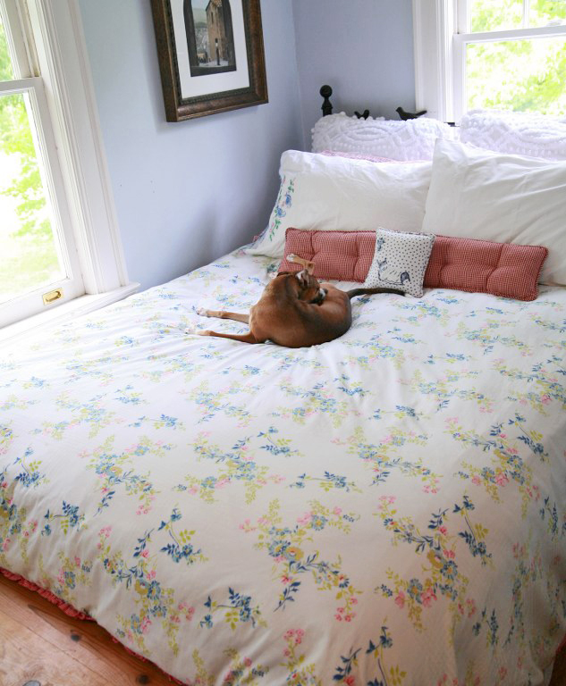 DIY Duvet Cover  Comforter Cover From Two Flat Sheets   My So Called     The
