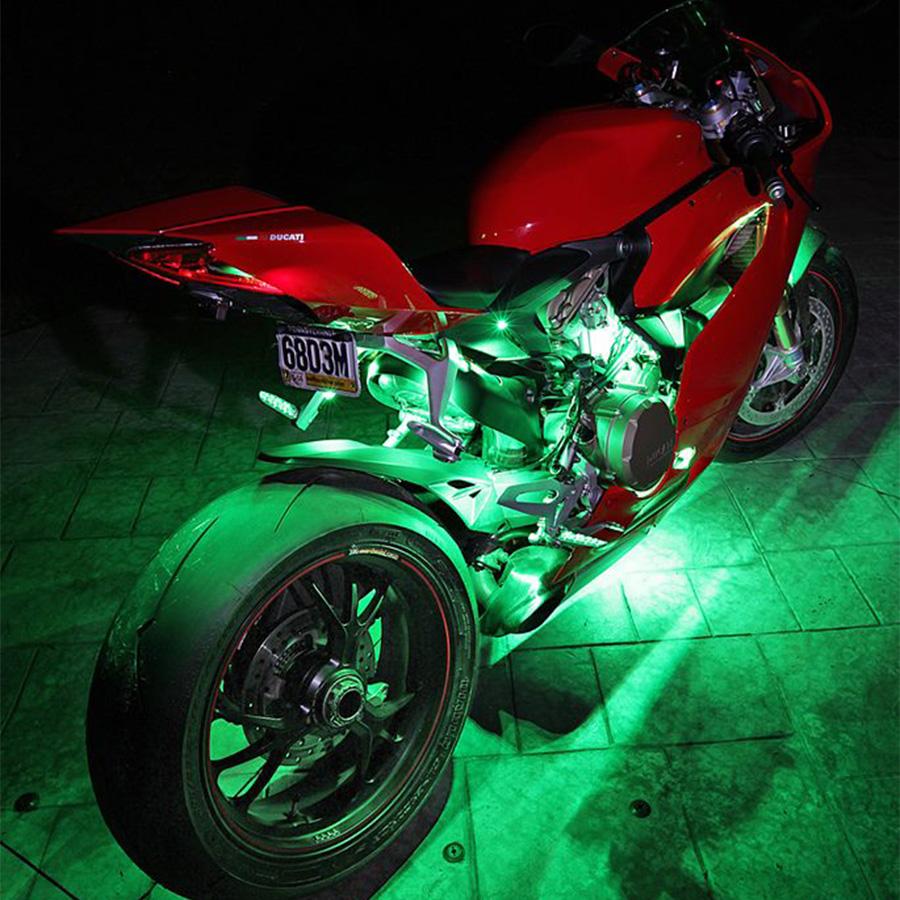 Motorcycle Underglow Led Light Kit