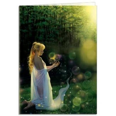 Celestial Friends Greetings Card Mystic Wish