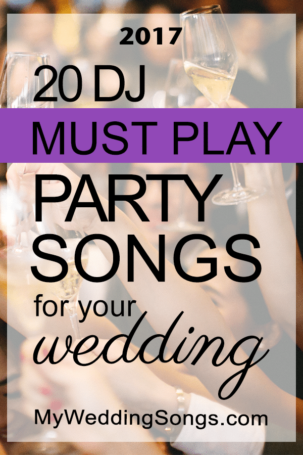 Must Have Wedding Songs