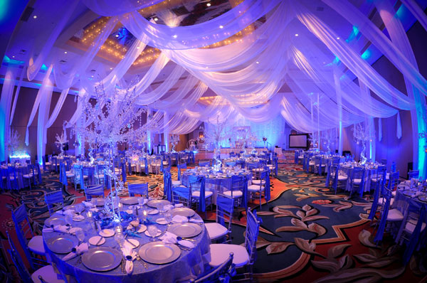 Marine Blue And Silver Wedding Ideas