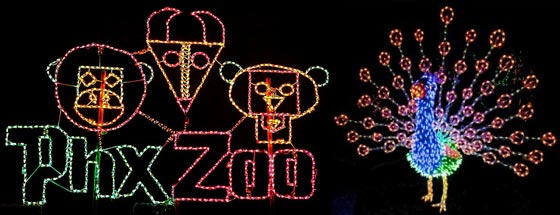 Cincinnati Zoo Lights