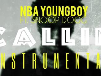 NBA YoungBoy Ft. Snoop Dogg – Callin (Instrumental)