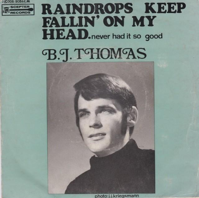 B.J.Thomas - Raindrops Keep Fallin' On My Head mp3 download