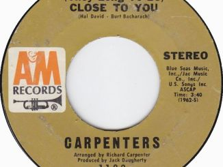 The Carpenters – (They Long to Be) Close to You