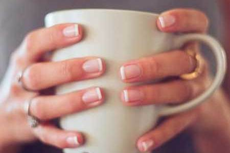 French Manicure Coffin Nails Short Edi Maps Full Hd Maps