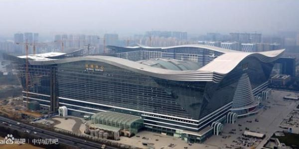 World S Largest Building Opens In China Technology